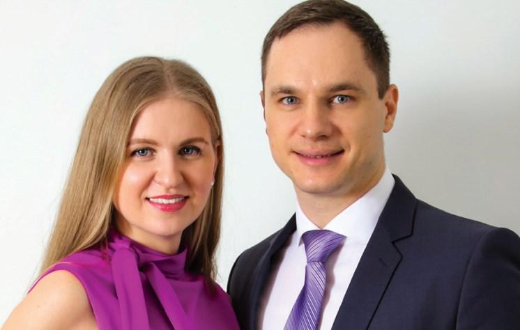 Галина и Сергей Гаглоевых