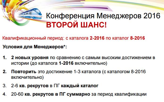 Конференция 2016 для Менеджеров