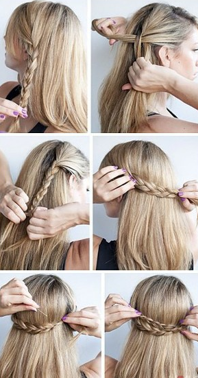 прически на длинные волосы с косами