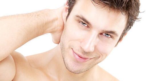 Уход за мужской кожей лица