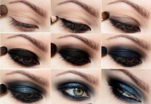 Как делать макияж смоки айс