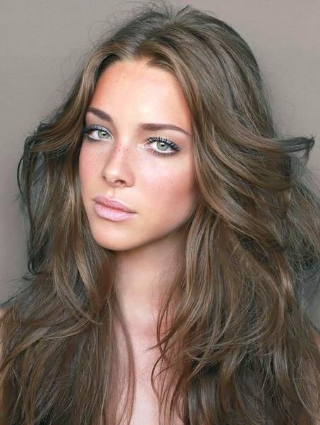 Цвет волос для серо голубых глаз