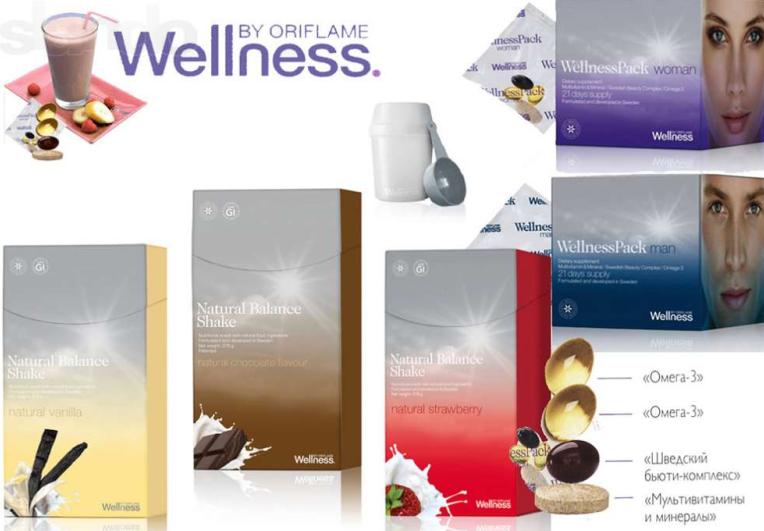 Велнес витамины от Орифлэйм отзывы
