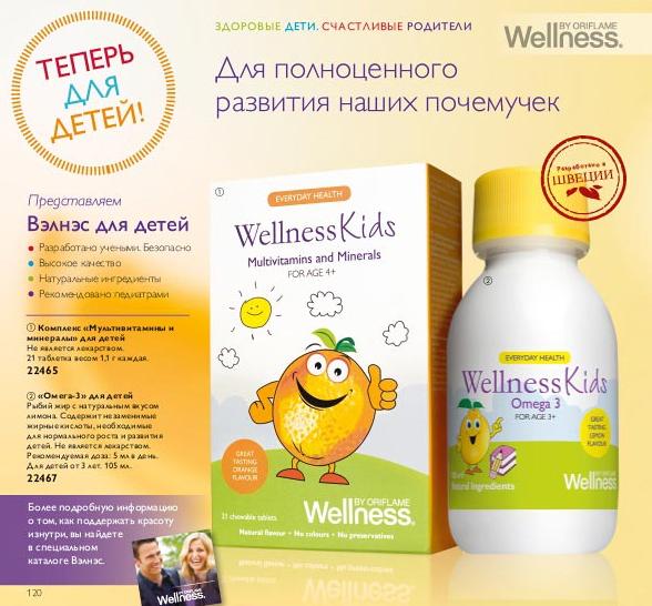 Витамины Велнес для детей отзывы
