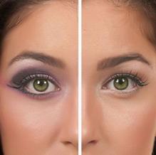 Как сделать больше глаза