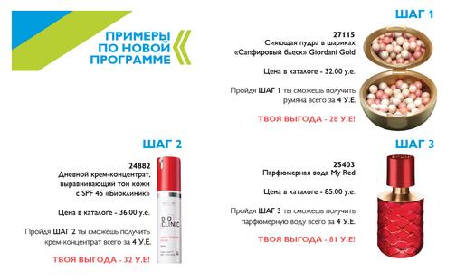 Новая стартовая программа Орифлейм 2014 Беларусь