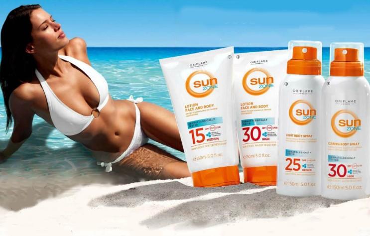 Солнцезащитные средства Sun Zone
