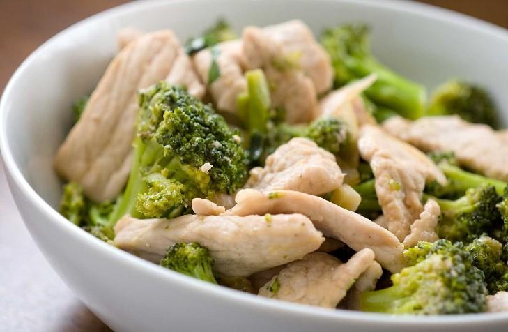 Брокколи с курицей рецепты с фото