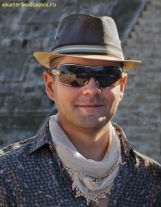 Константин Харченко на пирамидах Майя