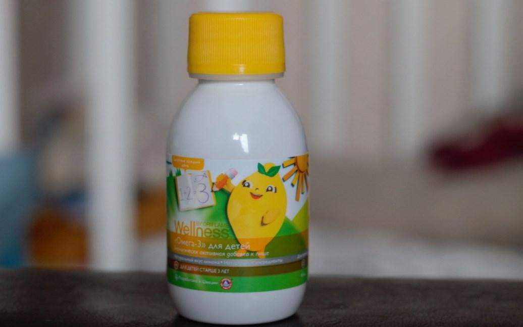 Омега-3 для детей
