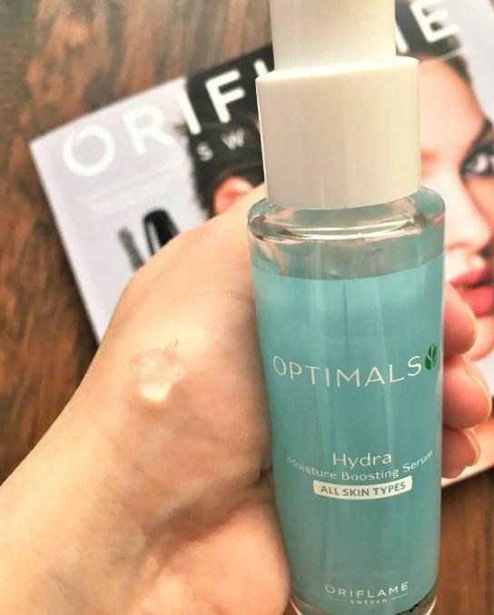 Увлажняющая сыворотка для лица для всех типов кожи Optimals Hydra
