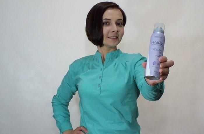 Сухой шампунь для придания объёма тонким волосам HairX