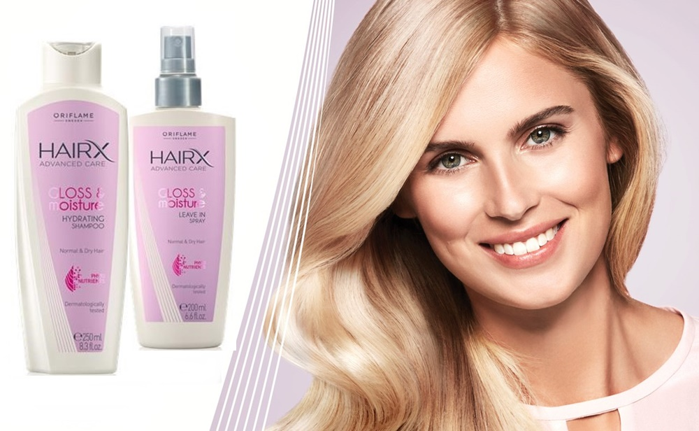 Увлажняющая серия для блеска волос HairX Advancade Care