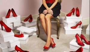 женщина и каблуки